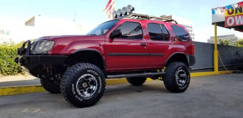 2002 Nissan Xterra for sale at STREET DESIGNS in Upland CA