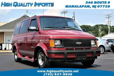 1992 Chevrolet Astro for sale at High Quality Imports in Manalapan NJ