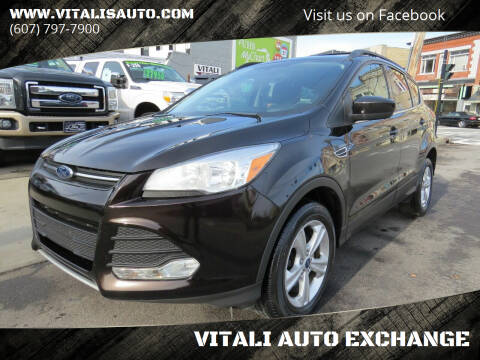 2013 Ford Escape for sale at VITALI AUTO EXCHANGE in Johnson City NY