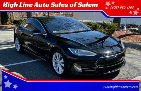 2015 Tesla Model S for sale at High Line Auto Sales of Salem in Salem NH