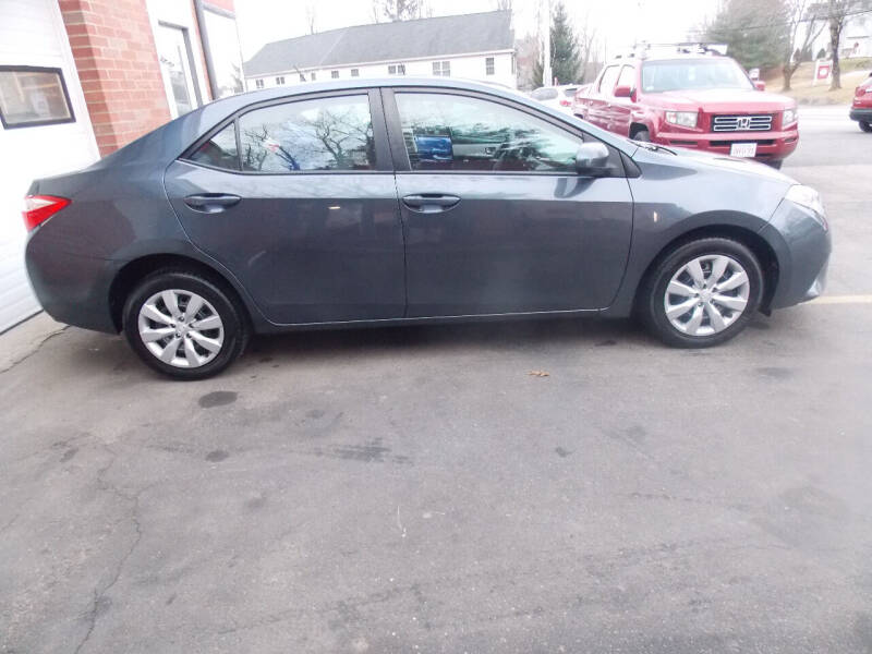 2014 Toyota Corolla for sale at Washington Street Auto Sales in Canton MA