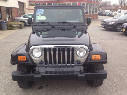 2005 Jeep Wrangler for sale at MR Auto Sales Inc. in Eastlake OH