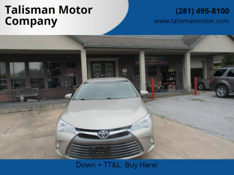 2016 Toyota Camry for sale at Don Jacobson Automobiles in Houston TX
