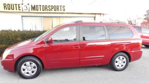 2008 Kia Sedona for sale at Route 3 Motors in Broomall PA