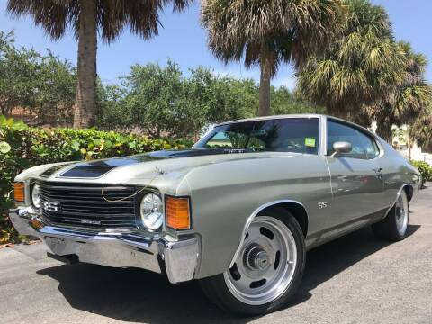 1972 Chevrolet Chevelle for sale at DS Motors in Boca Raton FL