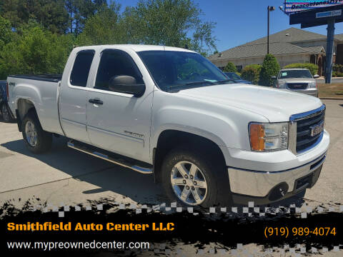 2011 GMC Sierra 1500 for sale at Smithfield Auto Center LLC in Smithfield NC