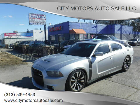 2012 Dodge Charger for sale at City Motors Auto Sale LLC in Redford MI