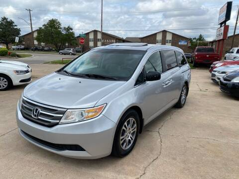 2012 Honda Odyssey for sale at Car Gallery in Oklahoma City OK