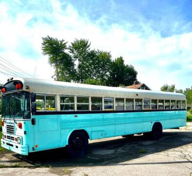 1998 Blue Bird bus/camper for sale at JEREMYS AUTOMOTIVE in Casco MI