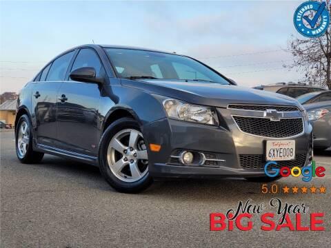 2013 Chevrolet Cruze for sale at Gold Coast Motors in Lemon Grove CA