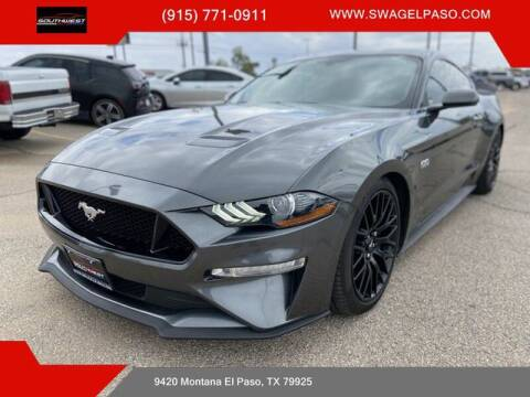 2018 Ford Mustang for sale at SOUTHWEST AUTO GROUP-EL PASO in El Paso TX