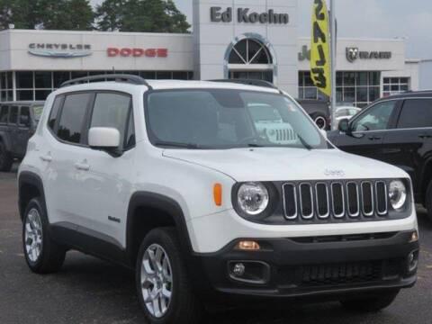 2017 Jeep Renegade for sale at Ed Koehn Chevrolet in Rockford MI