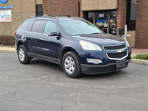 2010 Chevrolet Traverse for sale at Mighty Motors in Adrian MI
