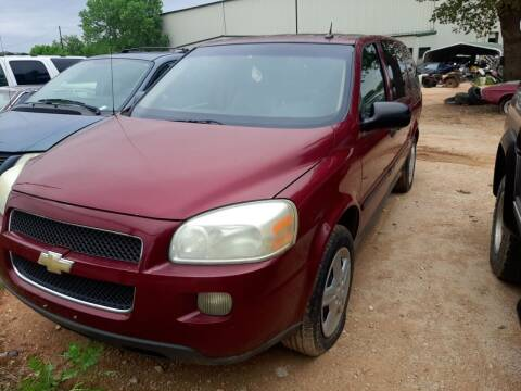 2005 Chevrolet Uplander for sale at KK Motors Inc in Graham TX