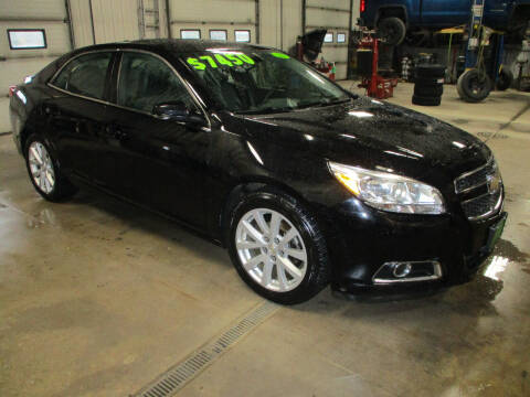 2013 Chevrolet Malibu for sale at Granite Auto Sales in Redgranite WI