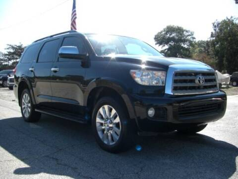 2011 Toyota Sequoia for sale at Manquen Automotive in Simpsonville SC