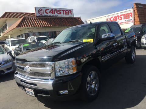 2009 Chevrolet Silverado 1500 for sale at CARSTER in Huntington Beach CA