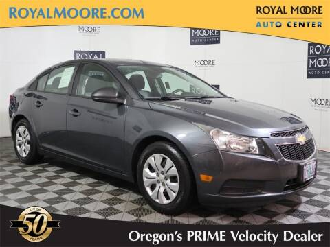 2013 Chevrolet Cruze for sale at Royal Moore Custom Finance in Hillsboro OR