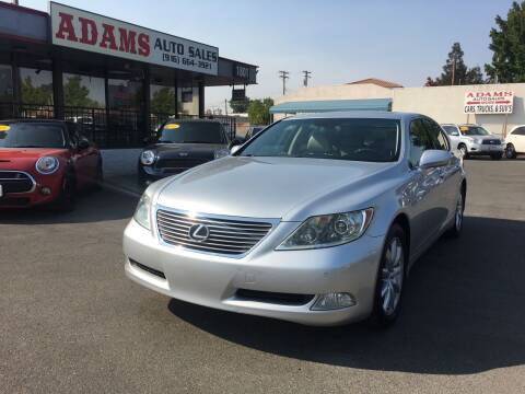 2008 Lexus LS 460 for sale at Adams Auto Sales in Sacramento CA