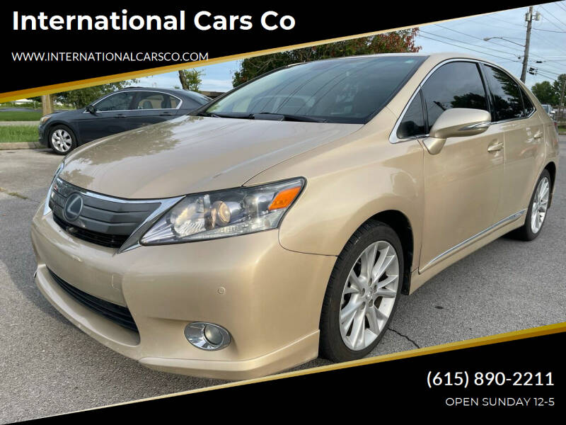 2010 Lexus HS 250h for sale at International Cars Co in Murfreesboro TN