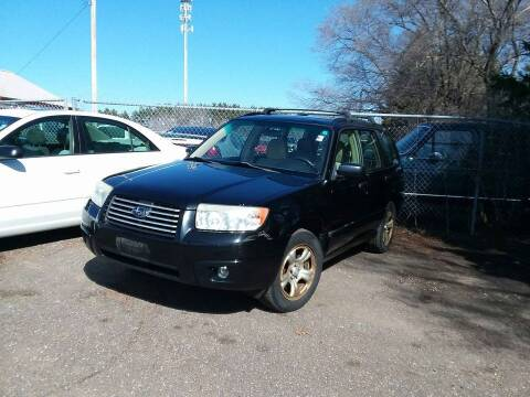 2006 Subaru Forester for sale at Affordable 4 All Auto Sales in Elk River MN