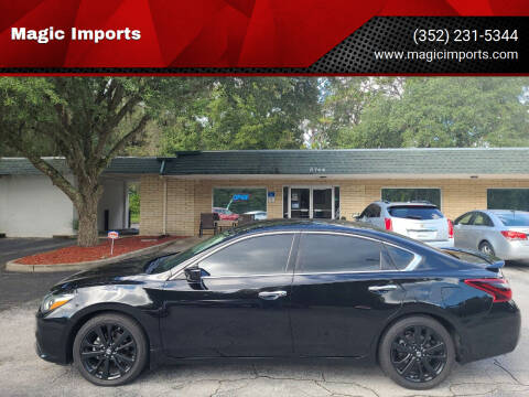 2017 Nissan Altima for sale at Magic Imports in Melrose FL