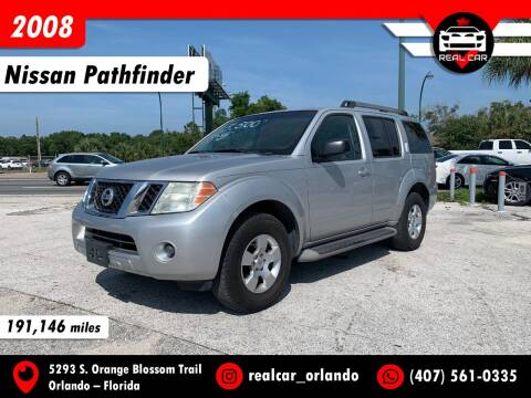 2008 Nissan Pathfinder for sale at Real Car Sales in Orlando FL