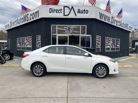 2018 Toyota Corolla for sale at Direct Auto in D'Iberville MS