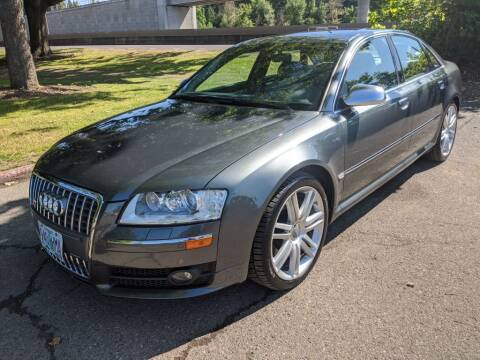 2007 Audi S8 for sale at EXECUTIVE AUTOSPORT in Portland OR