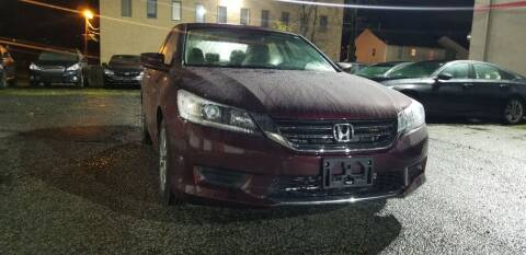 2015 Honda Accord for sale at Kingz Auto Sales in Avenel NJ