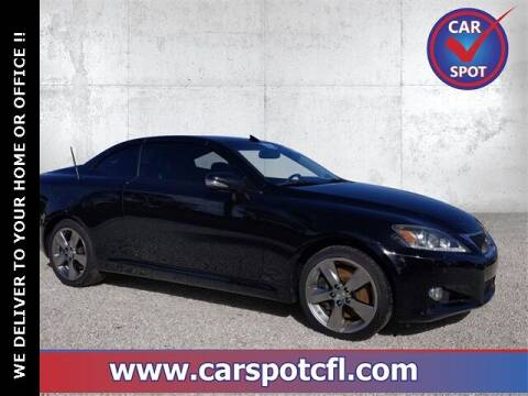 2011 Lexus IS 350C for sale at Car Spot Of Central Florida in Melbourne FL
