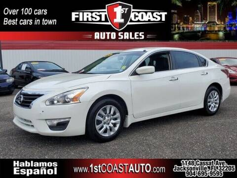 2015 Nissan Altima for sale at 1st Coast Auto -Cassat Avenue in Jacksonville FL