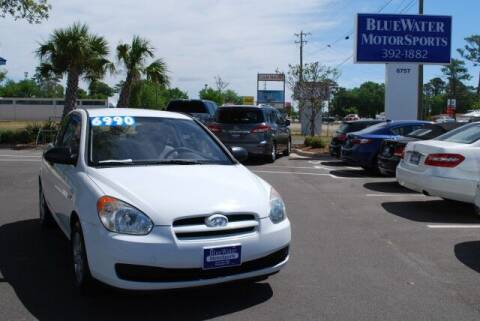2008 Hyundai Accent for sale at BlueWater MotorSports in Wilmington NC