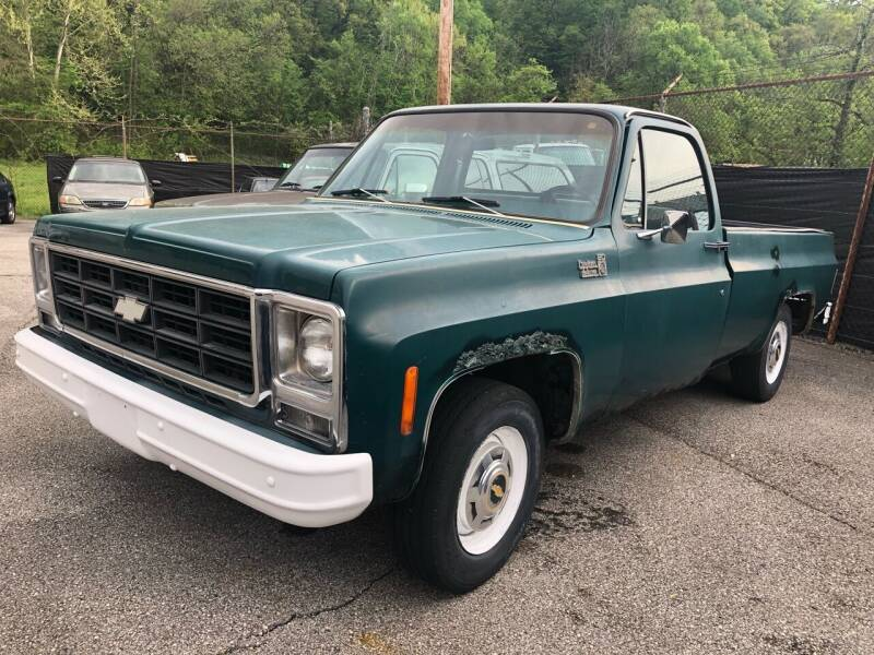 1979 Chevrolet C/K 20 Series for sale at Hensley Auto Sales in Frankfort KY