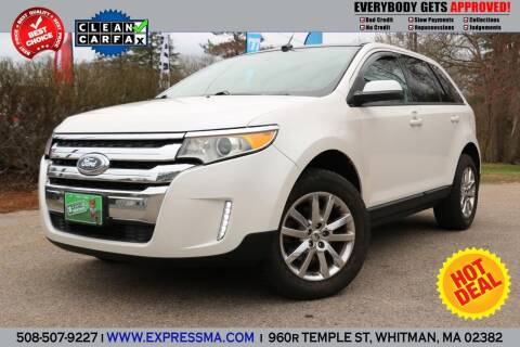 2012 Ford Edge for sale at Auto Sales Express in Whitman MA