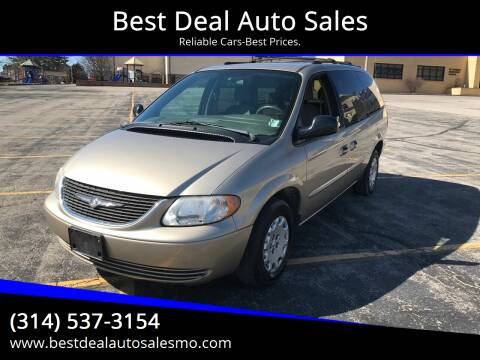 2003 Chrysler Town and Country for sale at Best Deal Auto Sales in Saint Charles MO