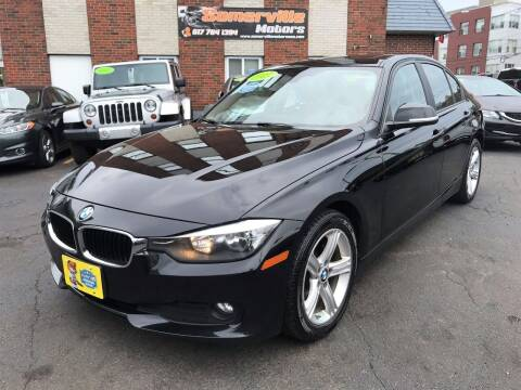 2013 BMW 3 Series for sale at Somerville Motors in Somerville MA