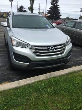 2015 Hyundai Santa Fe Sport for sale at Hamburg Motors in Hamburg NY