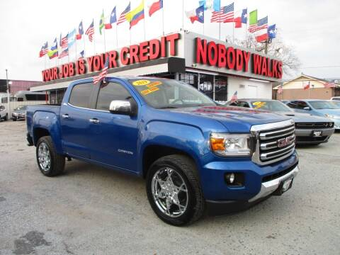 2019 GMC Canyon for sale at Giant Auto Mart 2 in Houston TX