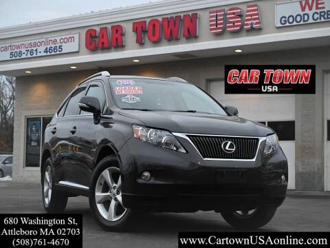 2010 Lexus RX 350 for sale at Car Town USA in Attleboro MA