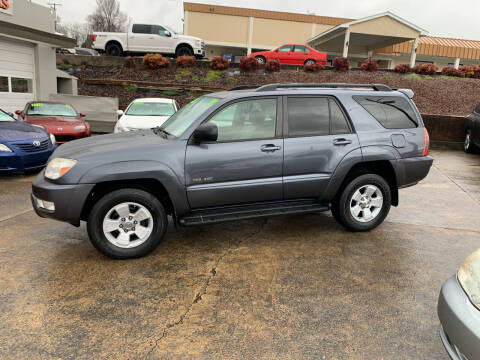 2004 Toyota 4Runner for sale at State Line Motors in Bristol VA