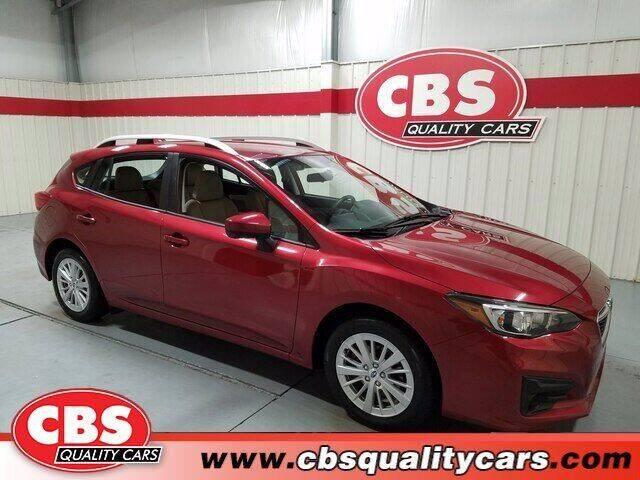 2018 Subaru Impreza for sale at CBS Quality Cars in Durham NC