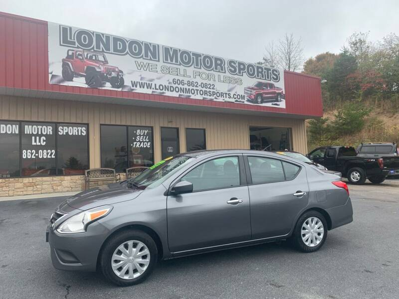 2019 Nissan Versa for sale at London Motor Sports, LLC in London KY
