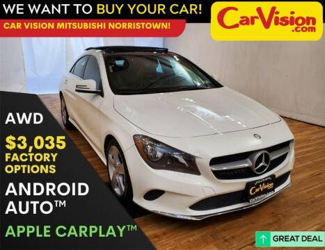 2017 Mercedes-Benz CLA for sale at Car Vision Mitsubishi Norristown in Trooper PA