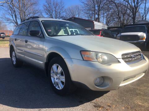 2005 Subaru Outback for sale at Creekside Automotive in Lexington NC