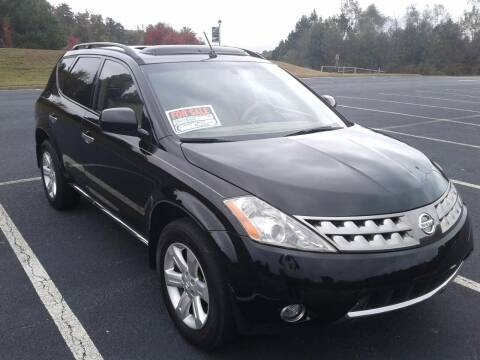 2007 Nissan Murano for sale at JCW AUTO BROKERS in Douglasville GA