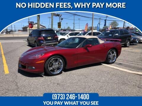 2006 Chevrolet Corvette for sale at Route 46 Auto Sales Inc in Lodi NJ