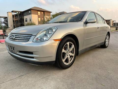 2004 Infiniti G35 for sale at Zoom ATX in Austin TX