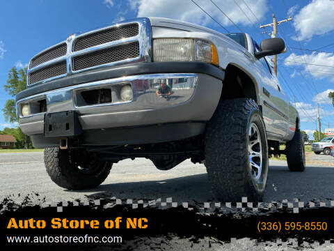 2002 Dodge Ram Pickup 2500 for sale at Auto Store of NC in Walkertown NC