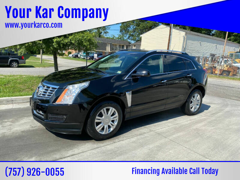 2014 Cadillac SRX for sale at Your Kar Company in Norfolk VA